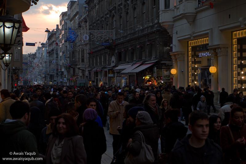 Crowded Taksim