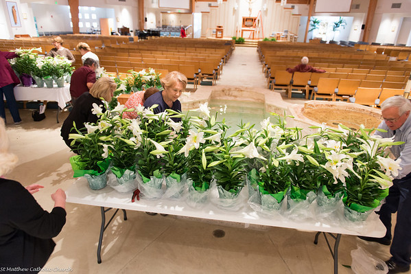 Church Preparations for Easter