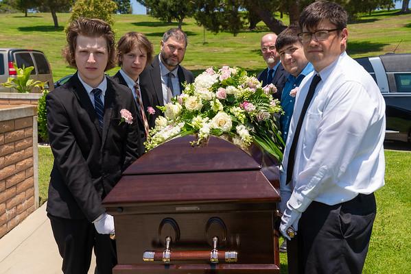 Richard Chamber's Funeral