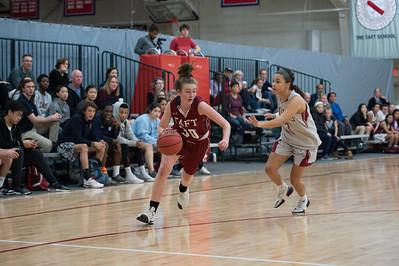 1/24/18: Girls' Varsity Basketball v Loomis Chaffee