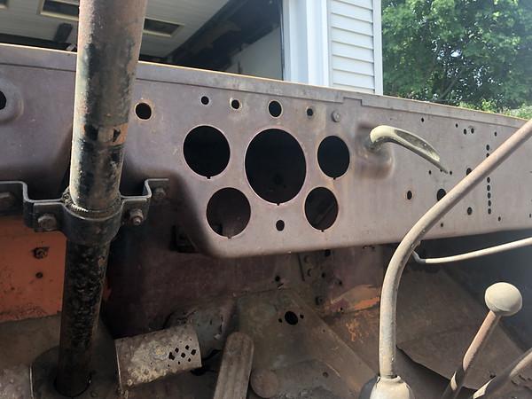 Dash and Gauges Restoration