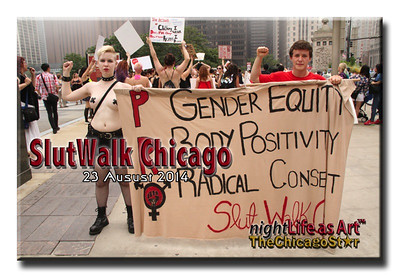 23 august 2014 Slutwalk