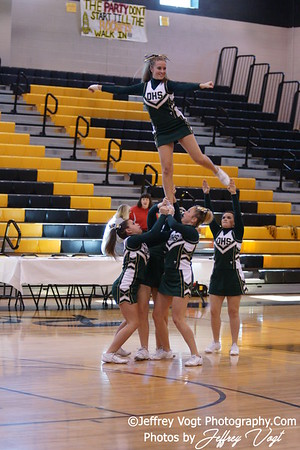 11-13-2010 MCPS RMS Cheerleading Competition Damascus HS, Photos by Jeffrey Vogt Photography