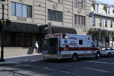 Woman Struck by Car, Pine St, East Broad St, Tamaqua (8-31-2012)