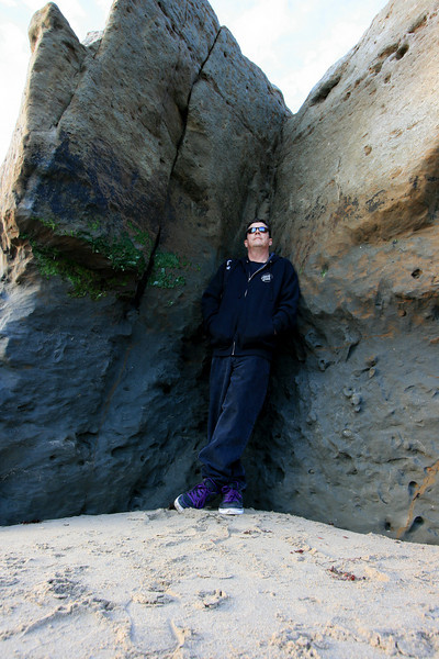West Cliff, Santa Cruz, California. December 2008.