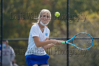 Tennis - High School Girls Middletown at Tiverton vs  on 10/10/20