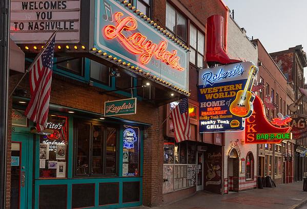 Music Row-Nashville, Tennessee