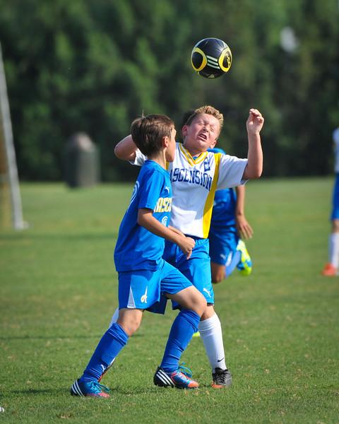Klostermann 6th Grade Soccer August 2013