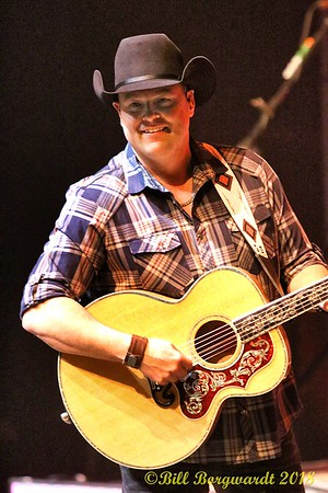 February 20, 2018 - Gord Bamford with special guest Aaron Goodvin at the Shell Theatre in Fort Saskatchewan.