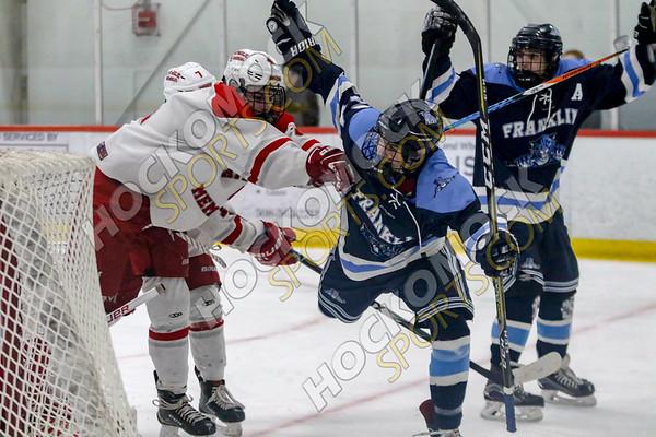Franklin-Catholic Memorial Boys Hockey - 03-06-19