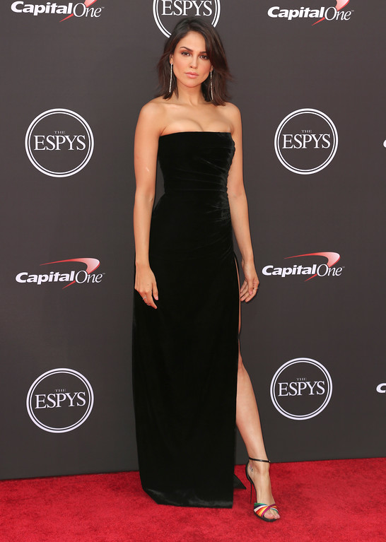 . Eiza Gonzalez arrives at the ESPY Awards at Microsoft Theater on Wednesday, July 18, 2018, in Los Angeles. (Photo by Willy Sanjuan/Invision/AP)