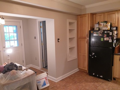 Kitchen completed pics of 167 Markle st.{Manayunk}