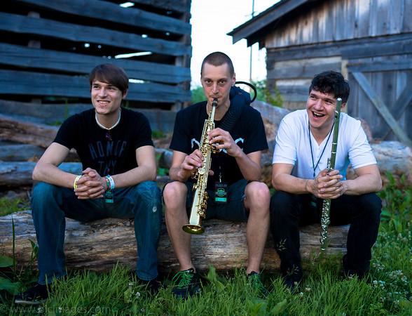 Moon Hooch - Nelsonville Music Festival 2015