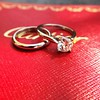 0.78ct Round Brilliant Diamond Bridal Set by Cartier 19