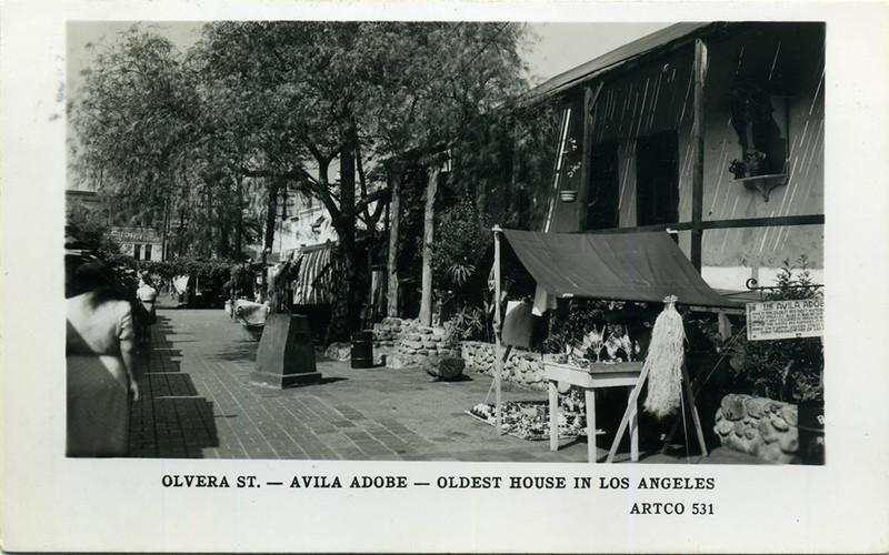 Avila Adobe on Olvera Street