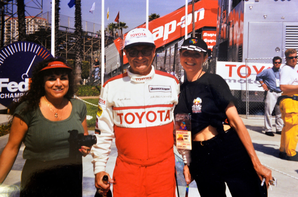 . Volunteers such as Gary and Phyllis Halliday are what power the Grand Prix Foundation, the charitable arm that hosts two major fundraising events in conjunction with the Toyota Grand Prix of Long Beach in Long Beach, CA. Monday February 17, 2014. (Courtesy Photo by the Halliday\'s )