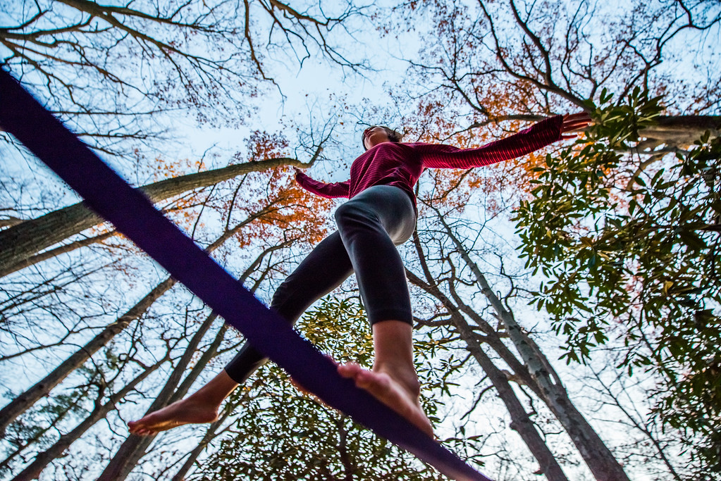 Autumn; Coopers Rocks; Favorite things; People; Places; Seasons; Slackline; Tara Smith; West Virginia; friends; photos by Gabe DeWitt