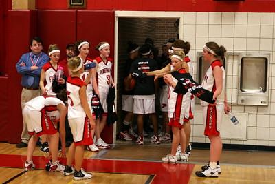 Girls Varsity Basketball - 2008-2009 - 2/11/2009 Manistee