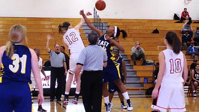 01/29/2010 BHS Girls JV Basketball - Butler VS East Meck