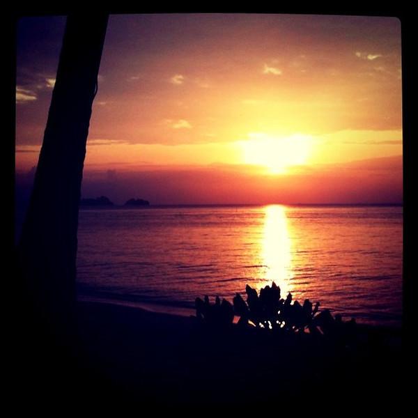 Sunset new year, Ko Samui