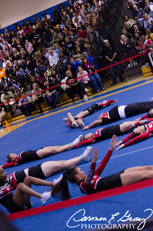 2012 NCHS Cheer Competition