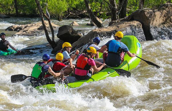 RVA Paddlesports 5-28-16 Afternoon Trip