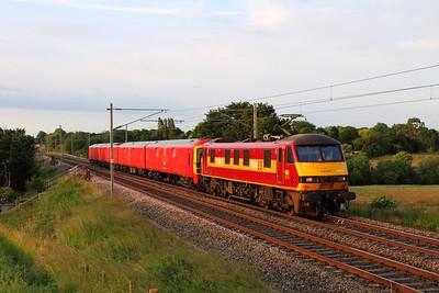 WCML - Stafford to Carnforth