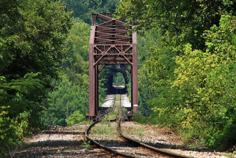M&NA RR Tunnel and Bridge over the White River, Cotter, AR