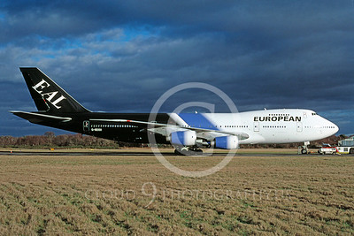 European Airline Boeing 747 Pictures