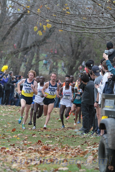 Men's 1 Mile mark - 2017 NCAA D1 XC National Championship