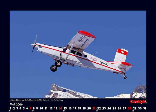 Cockpit Calendar – May 2006