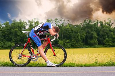 Stormy Cyclist