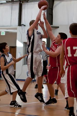 Jan 22 - 6th Gr Boys Basketball vs SASR