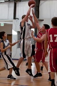 Jan 22 - 6th Gr Boys Basketball vs SASR