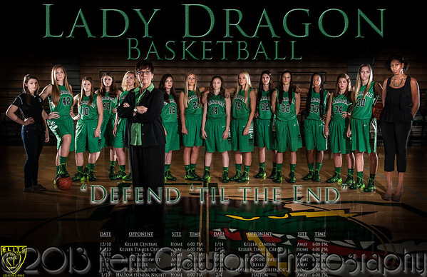 Girls Varsity BB Banners 2013