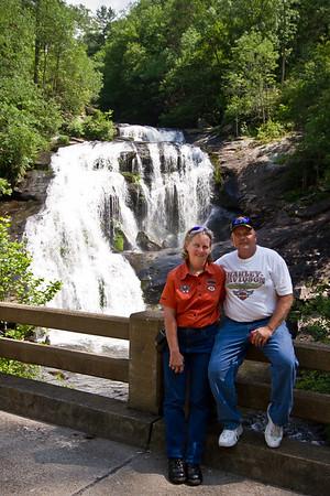 Bald River falls in Tellico Plains