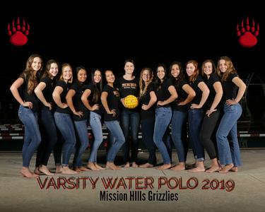 MHH Varsity Water Polo