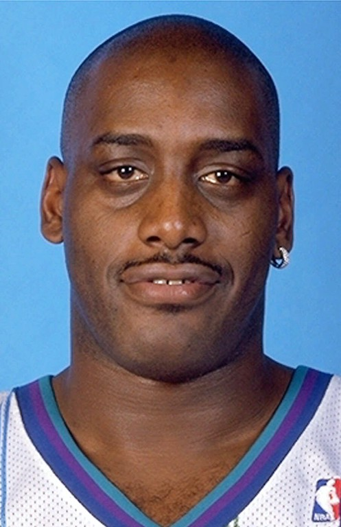 . FILE--Charlotte Hornets\' Anthony Mason is shown in a 1999 file photo.  (AP Photo)