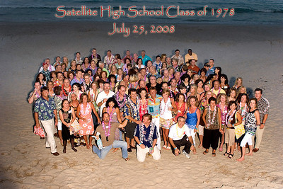Satellite High Class Reunion