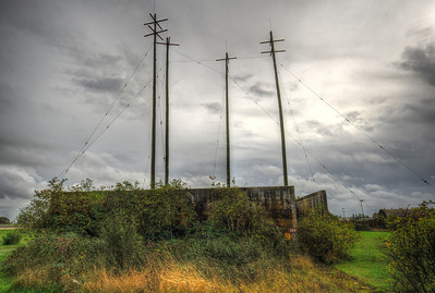 RAF Upper Heyford Radio Station 2013.