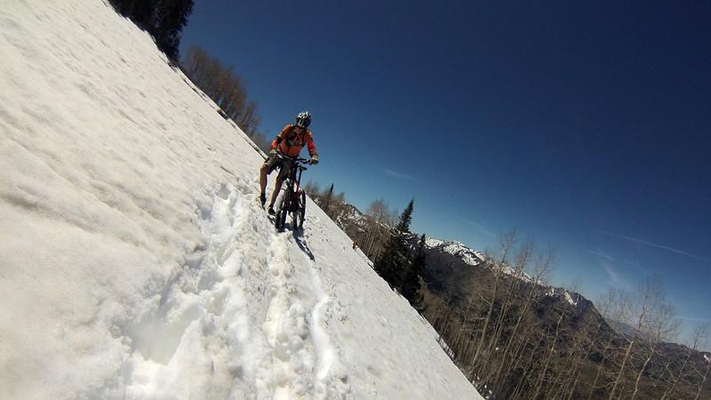 Jim Potts - up at 10,000 feet in June