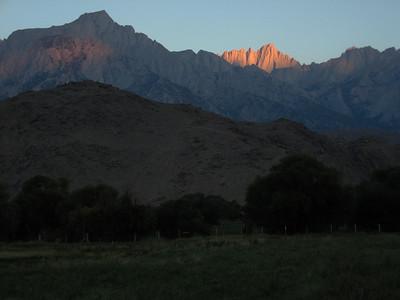 Eastern Sierra Trip - July 2007