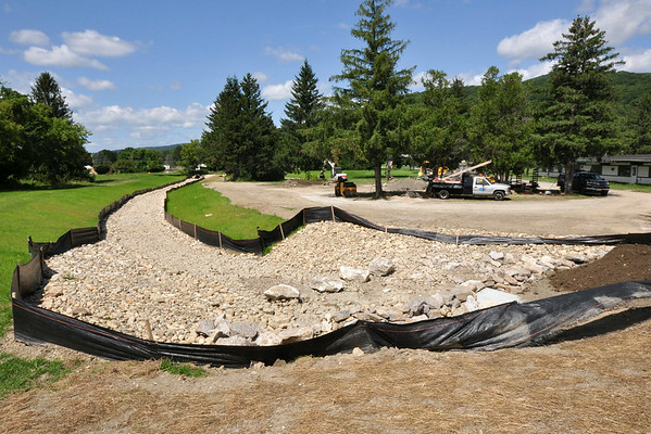 Culvert Construction at Spruces-081814