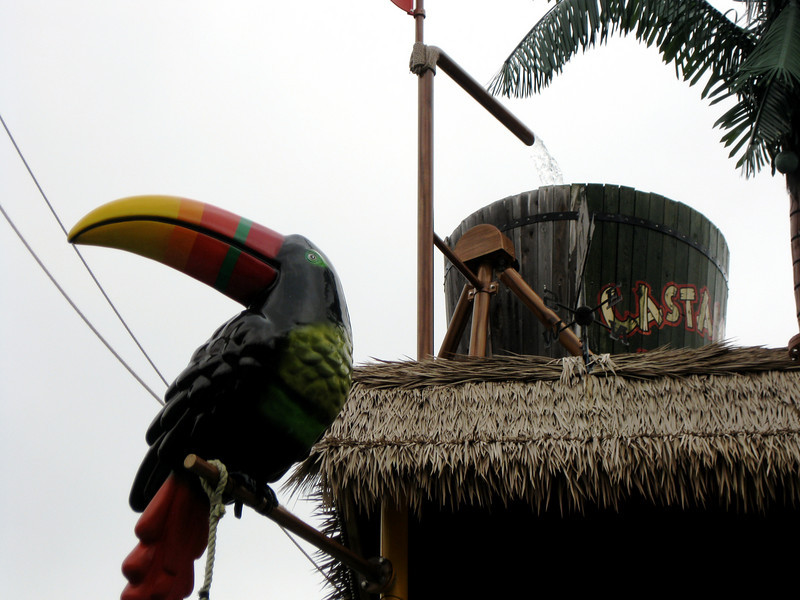 Castaway Island detail.
