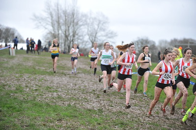 Under 17 Women - Hants X/C Championships