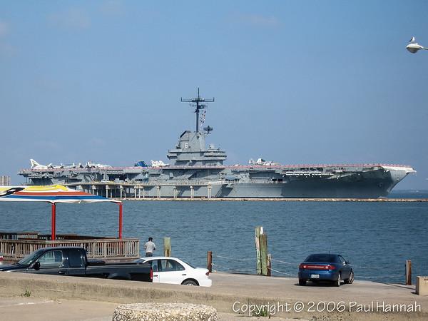 USS Lexington (CV-16/AVT-16) - Corpus Christi, TX