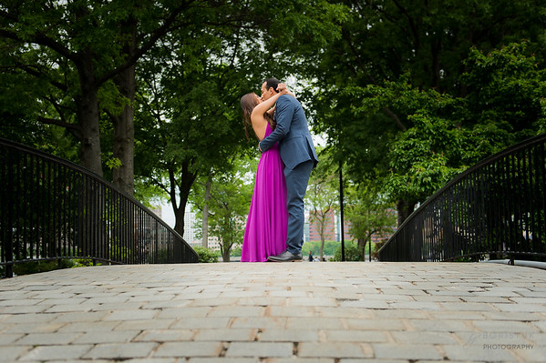 Esplanade Engagement Session: Bhavin & Sonam