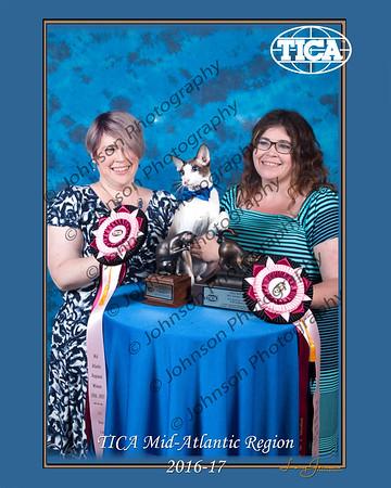 TICA Mid-Atlantic Regional Banquet 2017,York PA