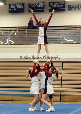 Cheer at LCC - Portland JV - Round 3 - Jan 25