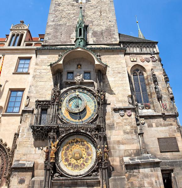 Astronomical Clock in Prague.